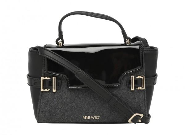 Clean Living Black Satchels & Handheld Bags-NW60430837