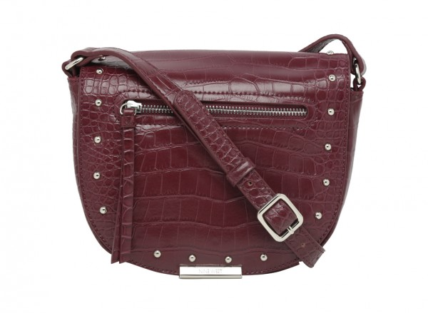 Dima Maroon Cross Body Bag