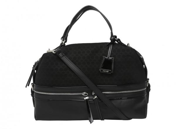 Hot Mesh Black Satchels & Handheld Bags