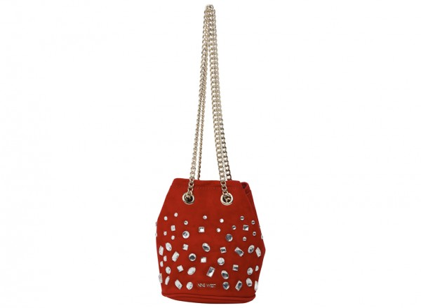 Lyosha Red Shoulder Bags & Totes