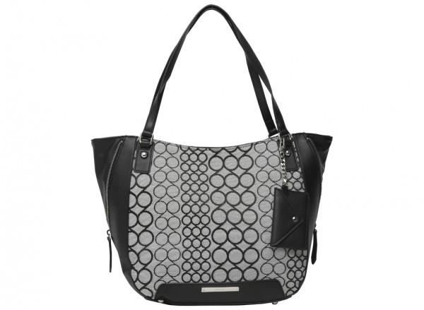 Carryall Grey Shoulder Bags & Totes