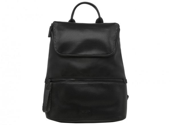 Zip Files Black Backpacks