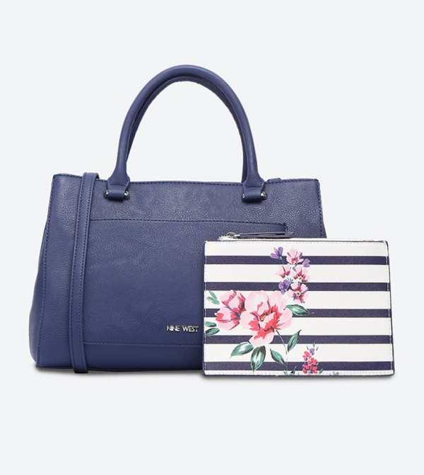 3093295aa3e Nelida Tote Bag - Navy NW60495321-MT