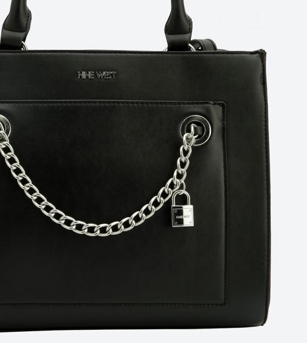 9a78a335f9f2 Nenet Chain Details Tote Bag - Black NW60502583-MT