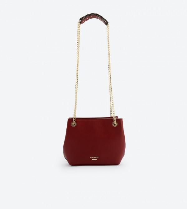ae0da99073 Nine West Somaya Chain Strap Shoulder Bag - Red NW60504141