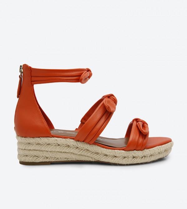d1dd35021c Nine West Allegro Ankle Strap Sandals - Orange NWALLEGRO