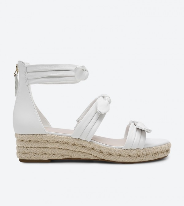 a1d26162a60 Allegro Espadrille Wedge Sandals - White