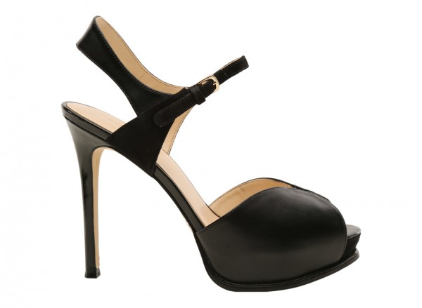 Cruzeto Black High Heels
