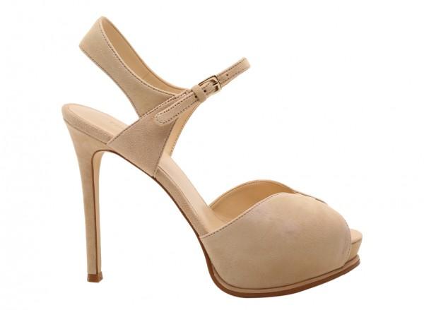 Cruzeto Natural High Heels