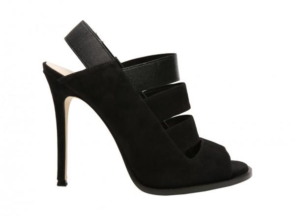 Hallan Black High Heel
