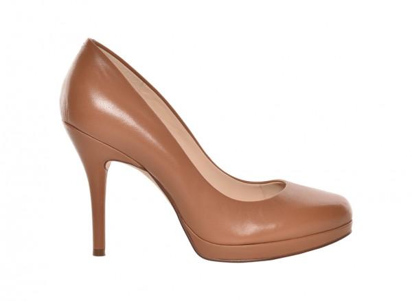 Nwkristal Brown High Heel