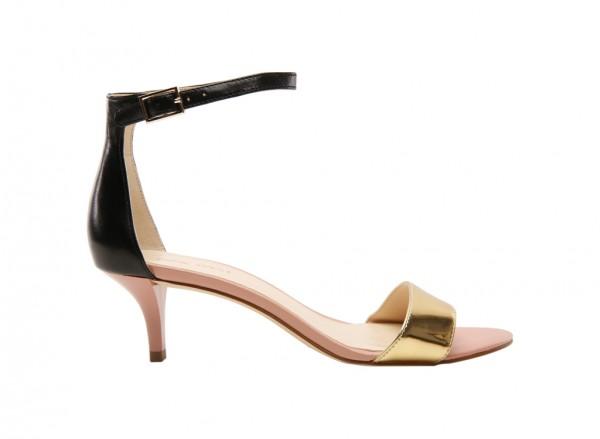Nwleisa Black Mid Heel