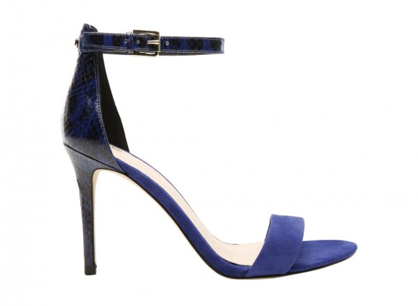 Mana Blue High Heel