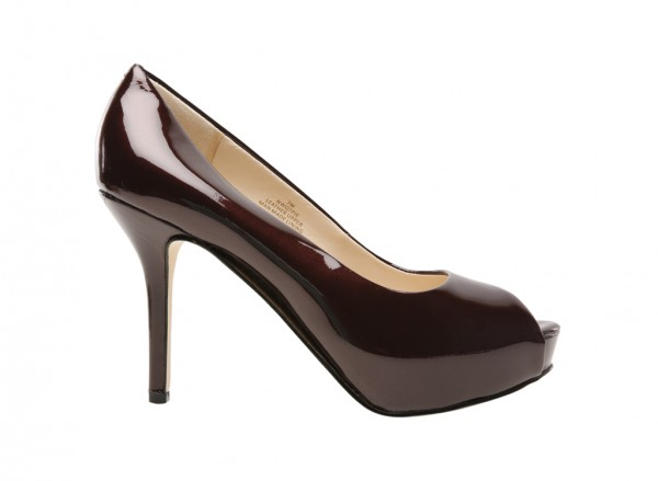Qtpie Maroon Pumps