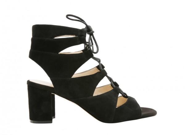 Nwtakeitup Black Mid Heel