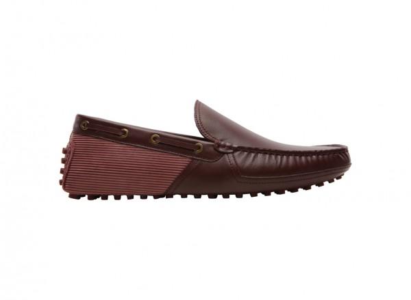 حذاء لوفر بلون خمري