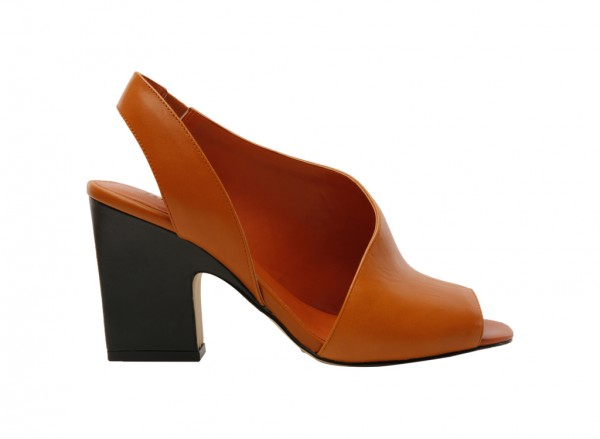 Cognac High Heel-PW1-26240048