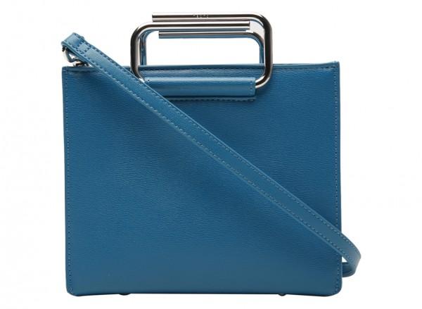 حقيبة بلون بترولي