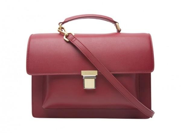 Red Satchels & Handheld Bags