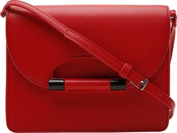 حقيبة بلون أحمر