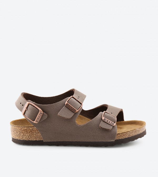 38428be9043 Birkenstock Roma Sandals - Brown - ROMA-KIDS-MOCCA