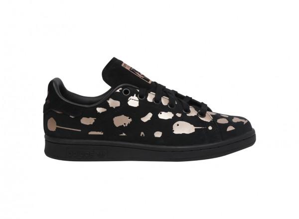 Stan Smith Black Sneakers & Athletics
