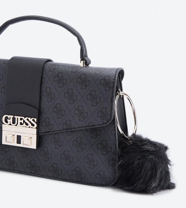 Logo Luxe Top Handle Cross Body Bag - Black SG710218 6b6129706b