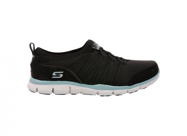Sports Active Black Flats