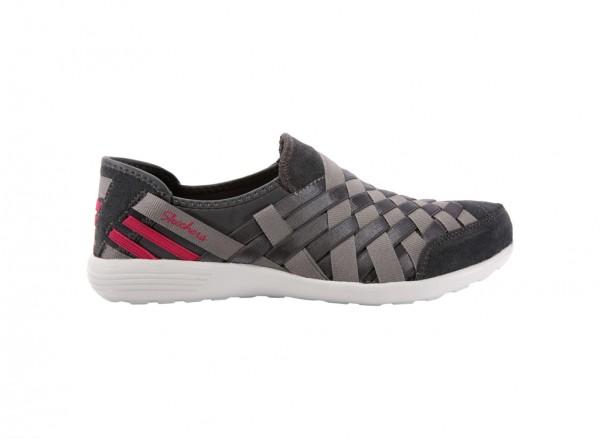 حذاء لون رمادي