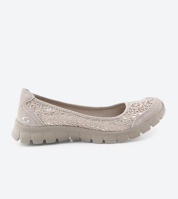 6d823262c684 Skechers Ez Flex 3.0 Czarina Ballerina - Taupe