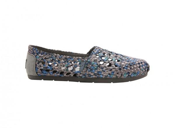 حذاء بوبس لون رمادي