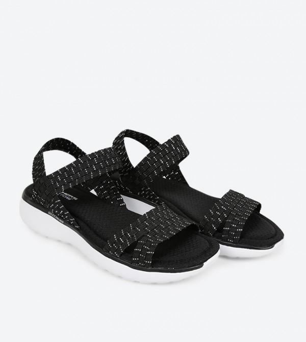 c03e7d36a09d Counterpart Breeze Warped Sandals - Black