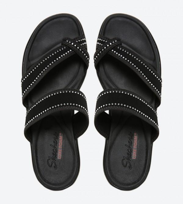 97b08df8e609 Bumblers Steady Rock Sandals - Black