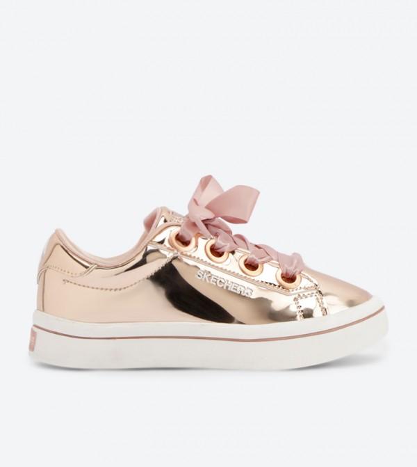 045a01d7d082 Skechers Hi-Lite Liquid Bling Sneakers - Rose Gold SK84693L-RSGD
