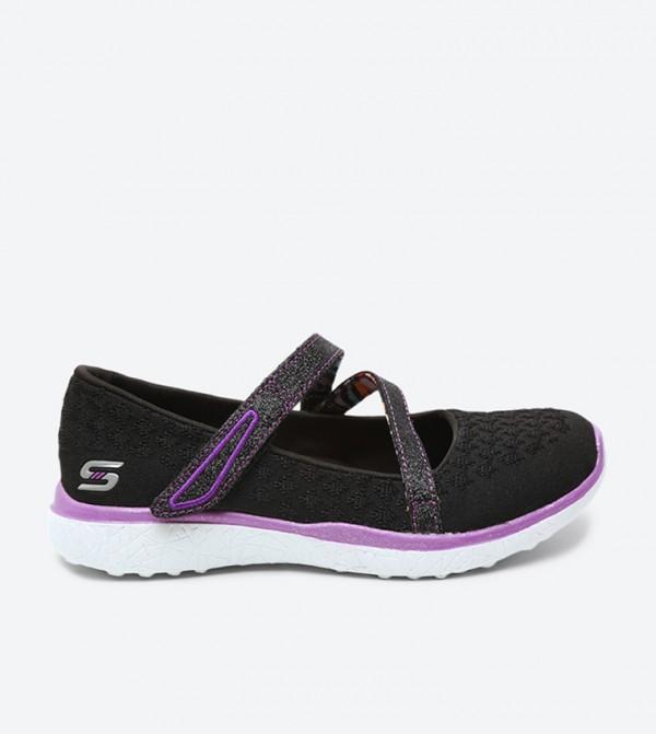 5944920064e Skechers Microburst One Up Sneakers - Black SK86914L-BKPR