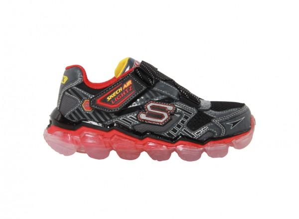 حذاء سكيتش اير لايتز لون أحمر