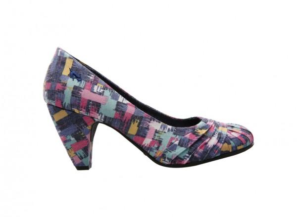 Sparkley Pink Mid Heel