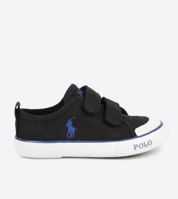 Polo Carlisle Lauren Iii Sneakers Ralph Black Ez nmvN80w
