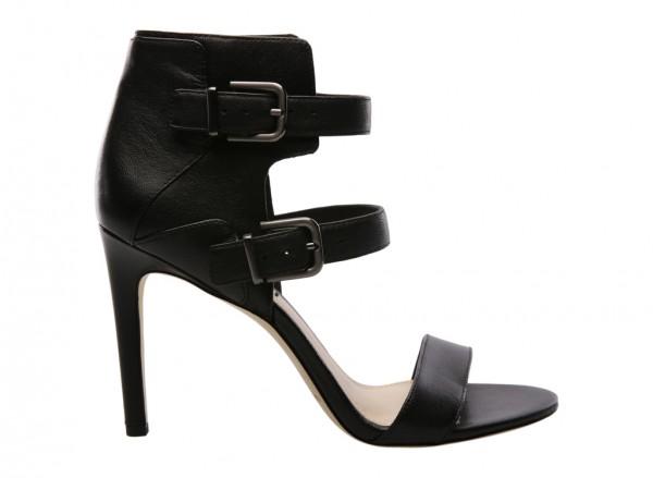 V-Evangeline Black High Heel