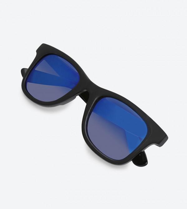 a3a975ba885 Janelle Hipster Sunglasses - Blue