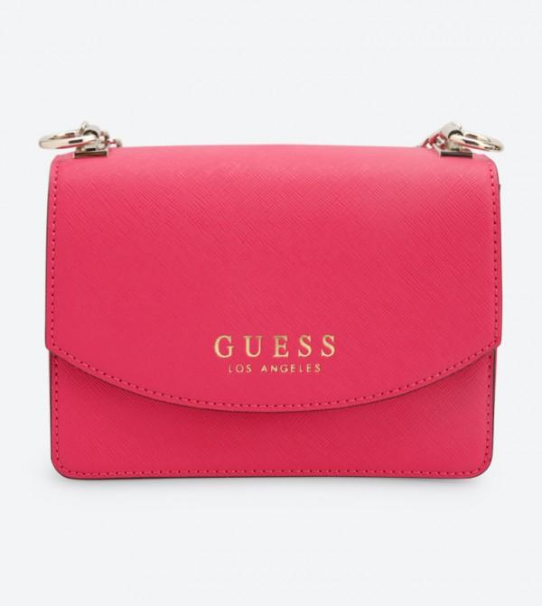 b5b73c39d Guess Robyn Mini Cross Body Bag - Pink VG718078