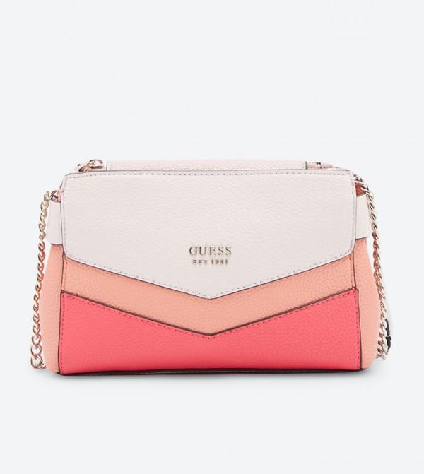 b1b677d91b28 Home  Colette Mini Society Cross Body Bag - Pink. VG729378-CORAL-MULTI