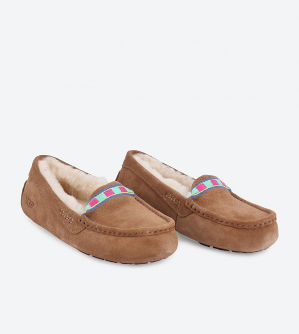 45843544a18 Ansley Embroidery Loafers - Brown