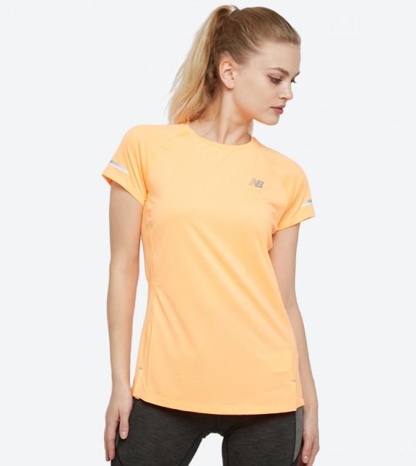 d000d4fb10ae6 New Balance Ice 2.0 Short Sleeve T-Shirt - Orange